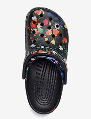Crocs - Classic Printed Floral Clog - black/multi - 3