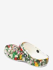 Crocs - Classic Printed Floral Clog - white/multi - 2