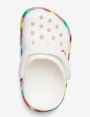 Crocs - Crocband Chevron Beaded Clog K - white - 3