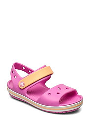 Crocband Sandal Kids - ELECTRIC PINK/CANTALOUPE