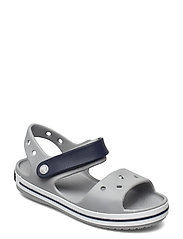 Crocband Sandal Kids - LIGHT GREY/NAVY