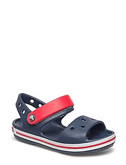 Crocband Sandal Kids - NAVY/RED