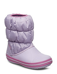 Winter Puff Boot Kid - LAVENDER