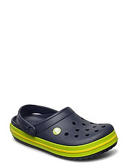 Crocband Clog K - NAVY/VOLT GREEN