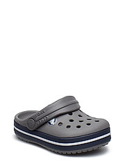 Crocband Clog K - SMOKE/NAVY