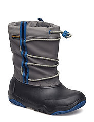 Swiftwater Waterproof Boot K - BLACK/BLUE JEAN