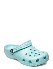 Classic Glitter Clog K - ICE BLUE
