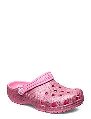Classic Glitter Clog K - PINK LEMONADE