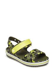 Crocband Seasonal Graphic Sandal - CITRUS