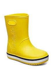 Crocband Rain Boot K - YELLOW/NAVY