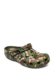 Classic Printed Camo Clog - ARMY GREEN/MULTI