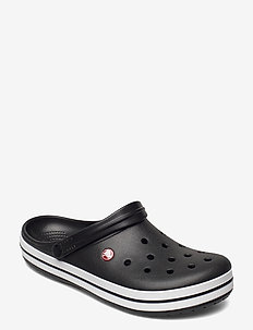 Crocband - badslippers - black