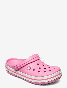 Crocband Blk - rantasandaalit - pink lemonade/white