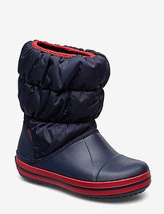 Winter Puff Boot Kids - vinter boots - navy/red