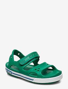 Crocband II Sandal - sandals - deep green/prep blue