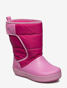 LodgePoint Snow Boot K - vinter boots - candy pink/party pink