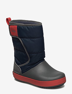 LodgePoint Snow Boot K - vinter boots - navy/slate grey