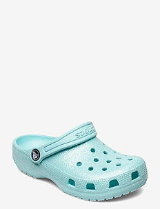 Classic Glitter Clog K - clogs - ice blue
