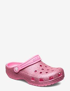 Classic Glitter Clog K - crocs - pink lemonade