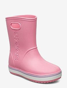Crocband Rain Boot K - gummistøvler - pink lemonade/lavender