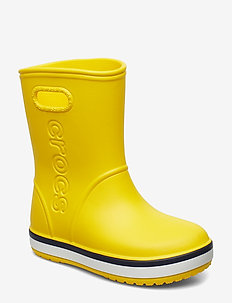 Crocband Rain Boot K - YELLOW/NAVY