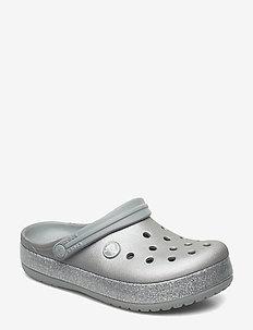 Crocband Glitter Clog K - SILVER