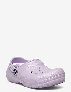 Classic Glitter Lined Clog K Lav - clogs - lavender