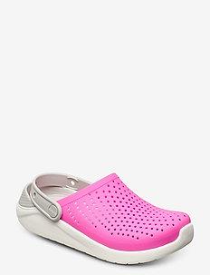 LiteRide Clog K - clogs - electric pink/white