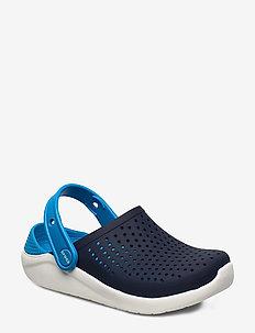 LiteRide Clog K - crocs - navy/white