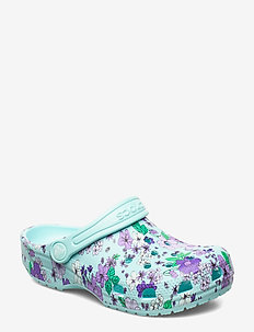 Classic Floral Clog PS - ICE BLUE