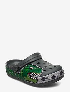Crocs FL Dino Band Lights Cg K - SLATE GREY