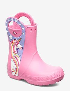 CrocsFL Uncrn Ptch Rain Boot - PINK LEMONADE