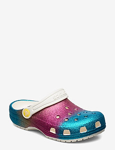 Classic Ombre Glitter Clog - crocs - oyster/multi