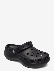 Classic Platform Clog W - pool sliders - black