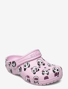 Classic Panda Print Clog K - clogs - ballerina pink