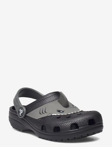 FLClassicIAMSharkClog K Blk - strap sandals - black