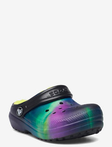 ClassicLinedOOTWCgK Blk/LiP - clogs - black/lime punch