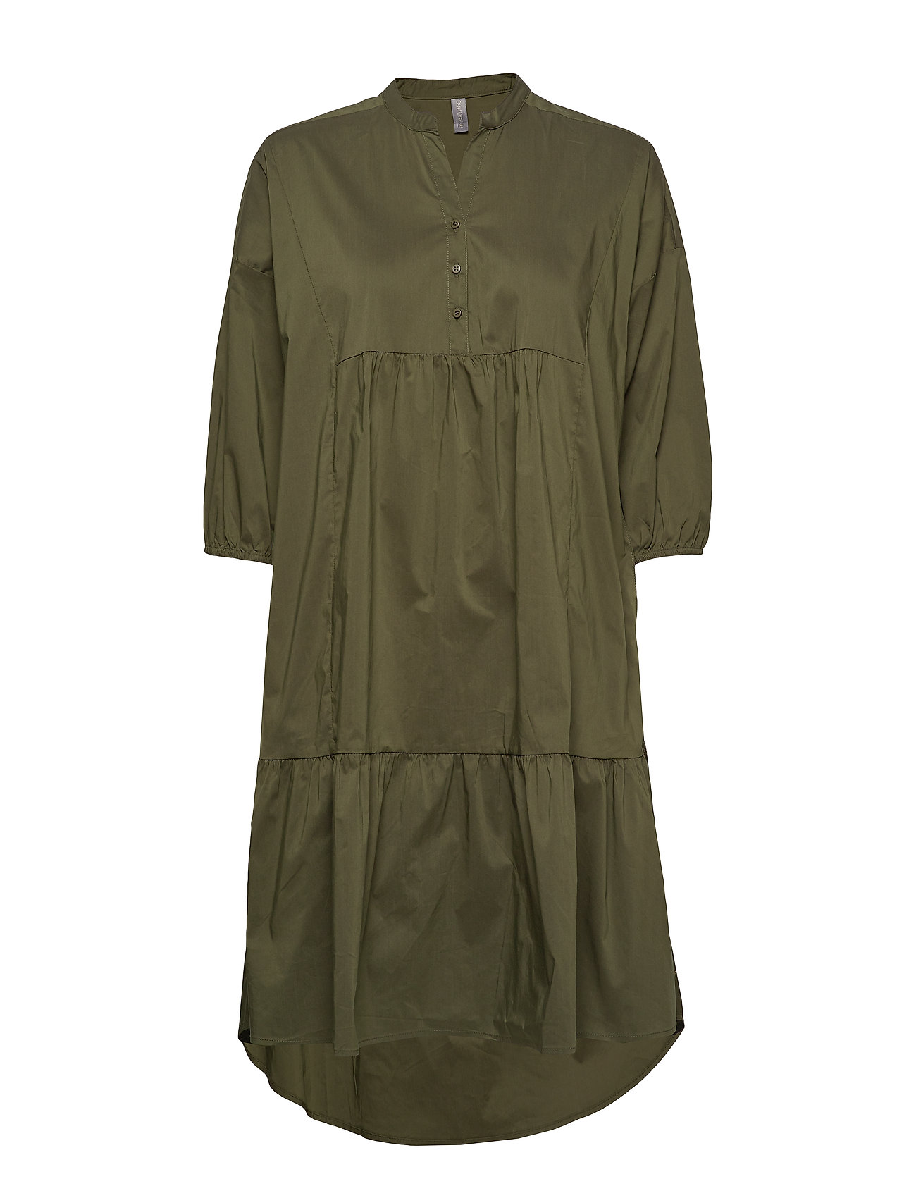 Culture CUantoniett Dress - BURNT OLIVE