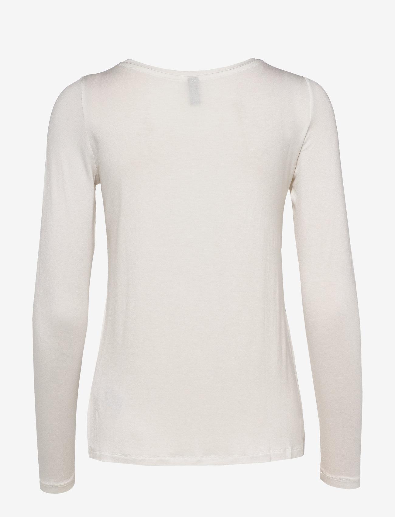 Culture Norah T-Shirt LS - T-shirty i zopy SPRING GARDENIA - Kobiety Odzież.