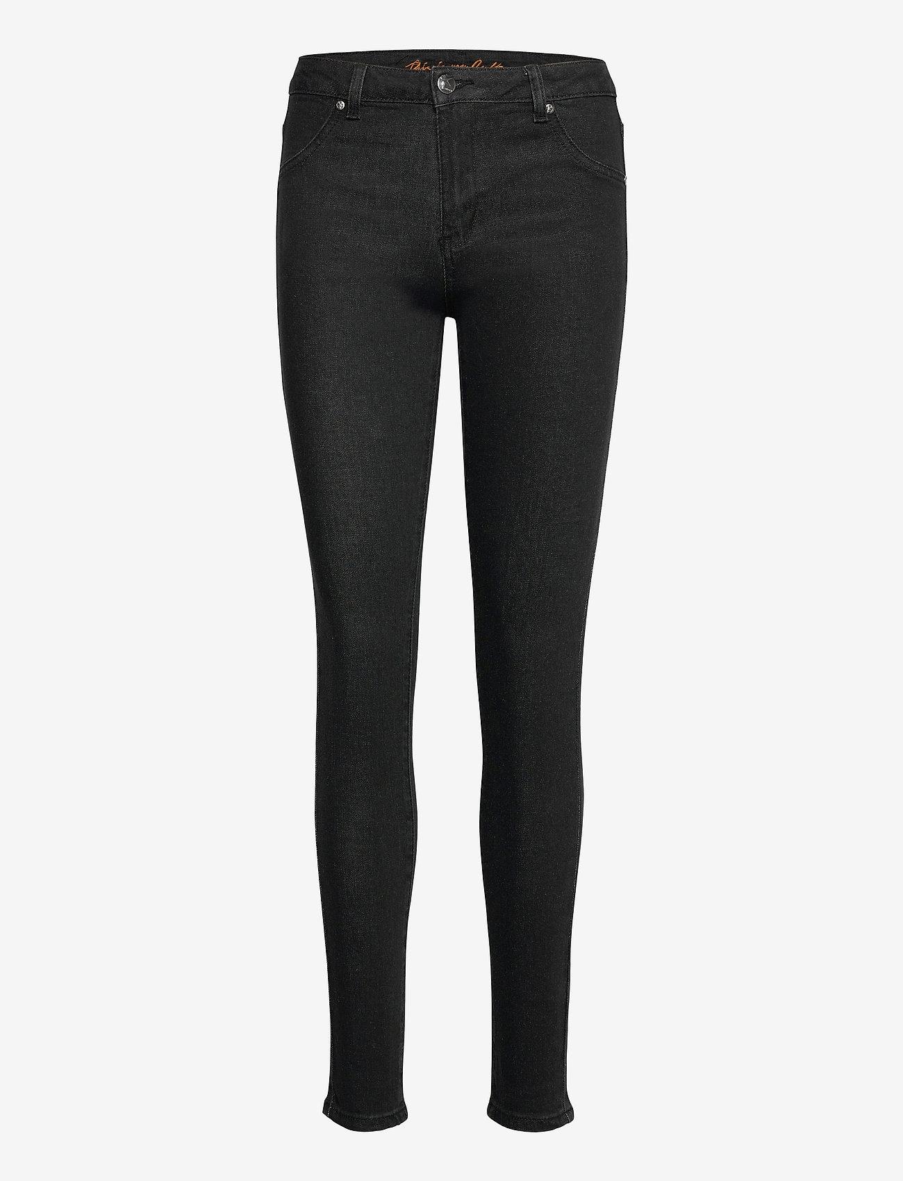 Culture - CUasta Denim Pants - skinny jeans - black wash - 0