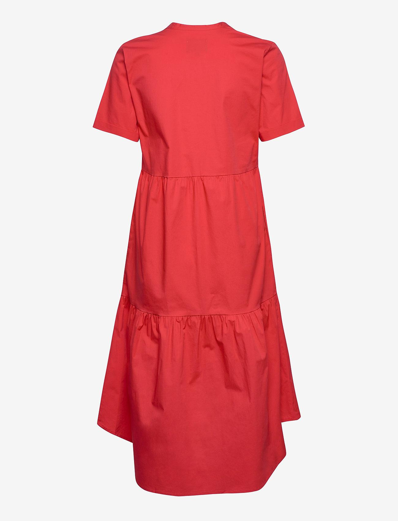 culture klänning röd