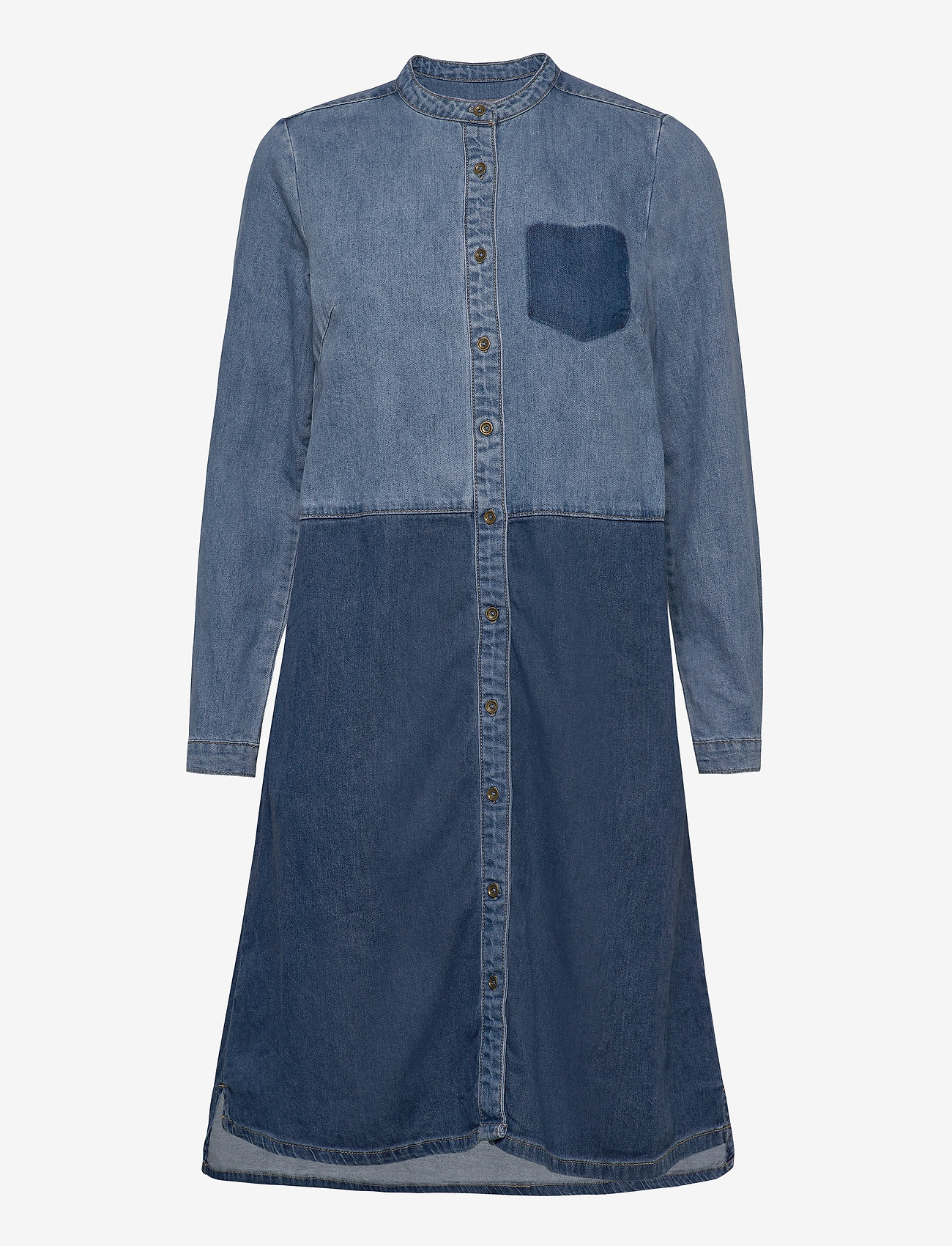Culture - CUpaola Dress - shirt dresses - medium blue wash - 0