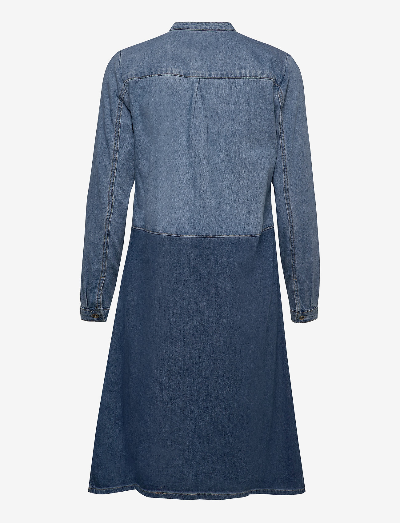 Culture - CUpaola Dress - shirt dresses - medium blue wash - 1