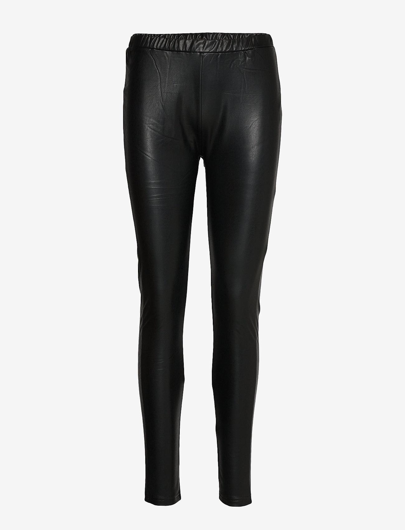 Culture - CUdede Leggings - lederhosen - black - 0