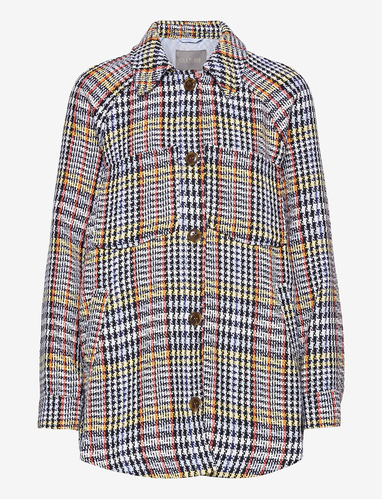 Culture - CUrenea Shirt Jacket - overshirts - blue iris - 1
