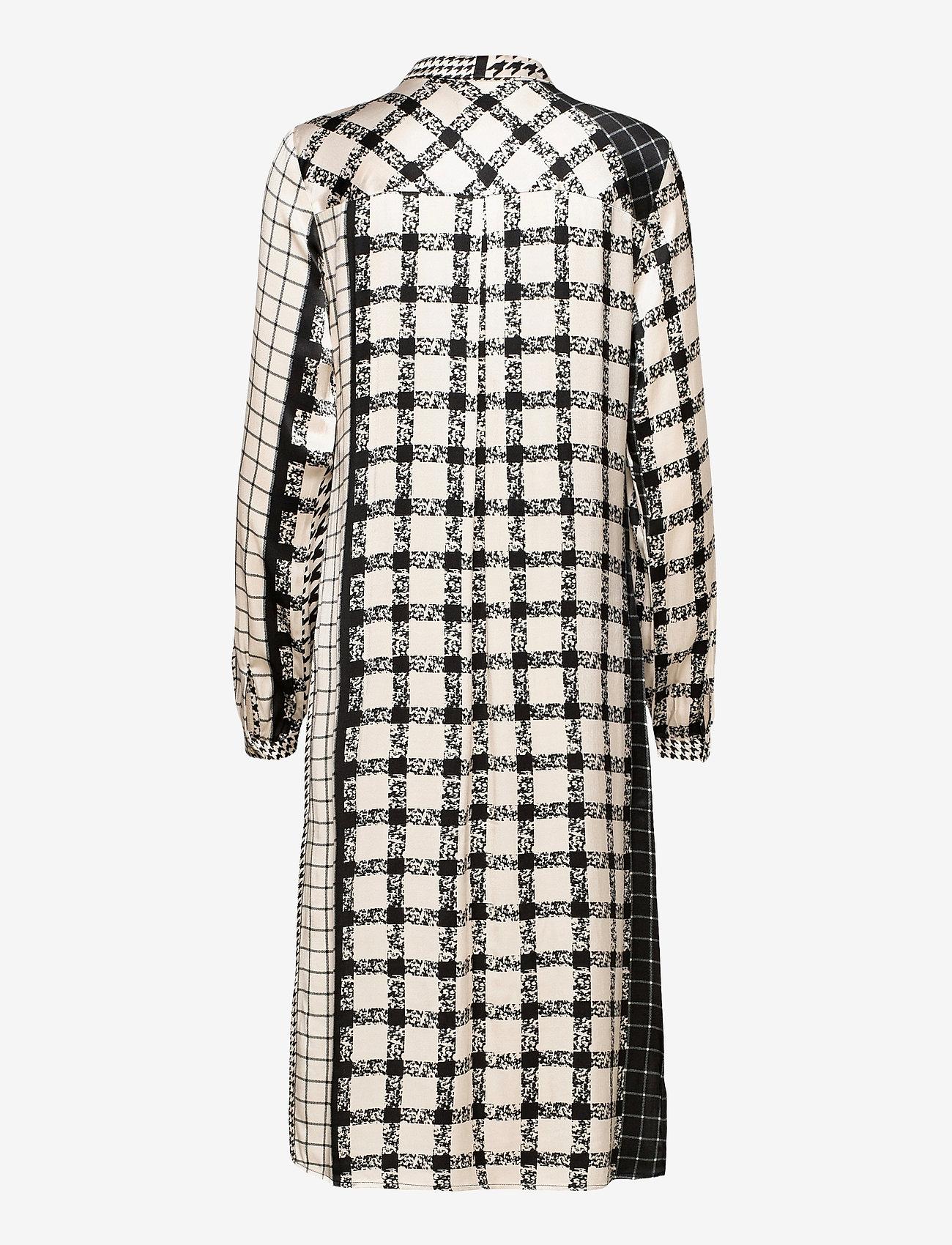 Culture - CUsalomon Dress - midi jurken - black - 1