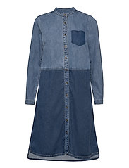 CUpaola Dress - MEDIUM BLUE WASH
