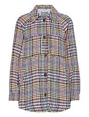 CUrenea Shirt Jacket - BLUE IRIS