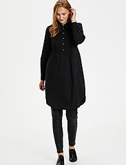 Culture - CUantoniett Dress - midi jurken - black - 3