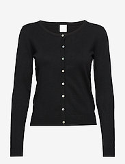 Culture - Annemarie Cardigan - gilets - black - 0
